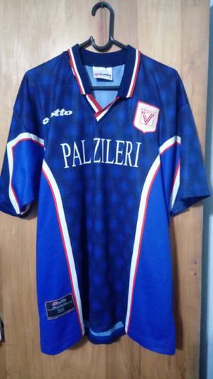 Camiseta marca Lotto del Vicenza de Italia talle M