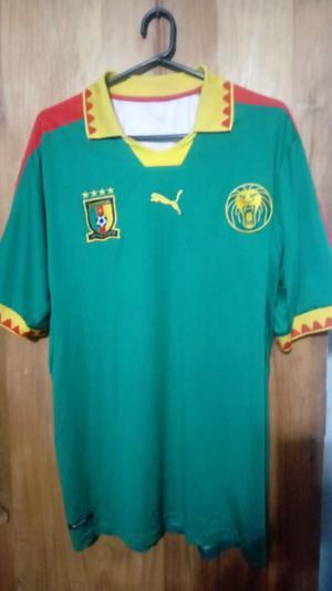 Camiseta marca Puma seleccion Camerun talle XL