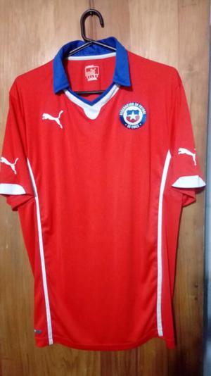 Camiseta marca Puma seleccion de Chile talle XL