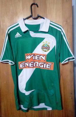 Camiseta marca adidas drl Sk Rapid de Austria talle M