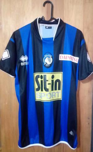 Camiseta marca errea del Atalanta de Italia talle M