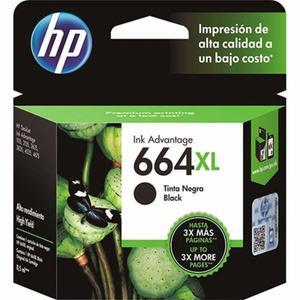Cartucho HP 664 XL NEGRO