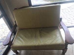 Juegos de sillones de algarrobo reclinables laqueados