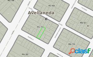 Lote ubicado en el partido de Avellaneda