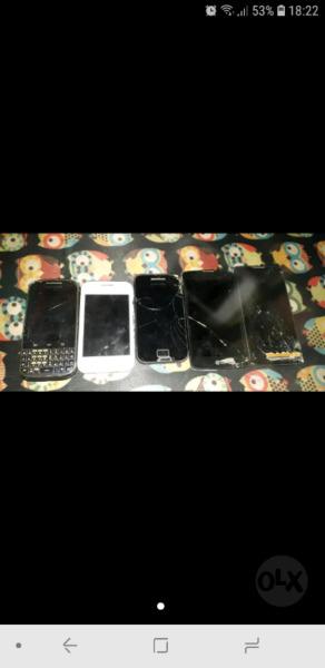 Vendo celulares para arreglar