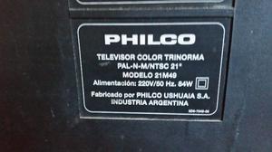 tv PHILCO 21 C REMOTO