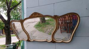 Antiguo espejo de estilo biselado