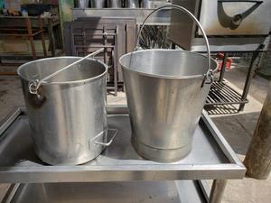Baldes de acero 20 litros