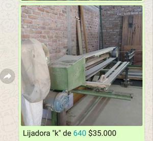 CARPINTERIA LIJADORA K de 640