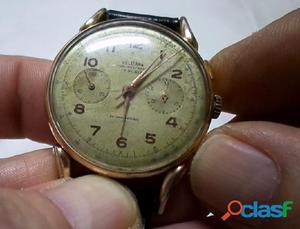 Antiguo reloj Suizo Delbana cronometro. Ver video.