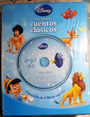 Cuentos Clasicos de Disney Nuevo cerrado, colección de 5