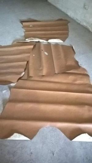 Cuero Vacuno Pack 2 Placas De 1.25mt2 C/u = 2.5mts2
