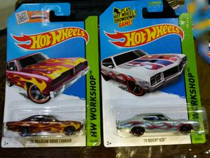 Hot Wheels x2 autitos de coleccion