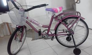 Vendo Bicicleta de niña, precio negociable