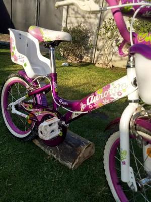 Vendo bicicleta Aurorita Flower rodado 16