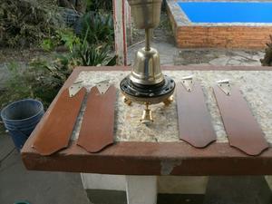 Vendo el mejor ventilador de techo Czerweny 4 paletas y 3