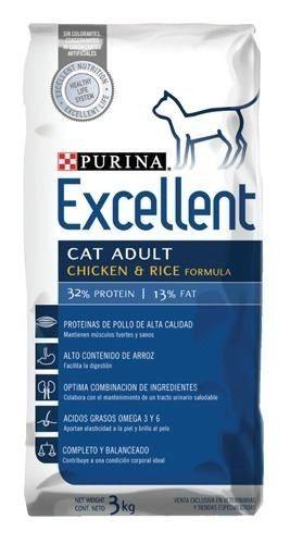 EXCELLENT CAT ADULTO X 7.5KG Y X 15KG A CUADRAS DEL CPC DE