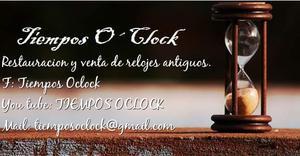 Relojes antiguos de pared mesa pie reparación y venta