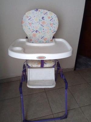 Silla para comer y mesedero para bebe