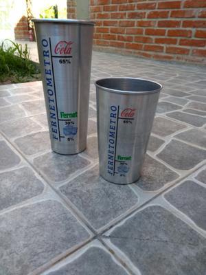 Vasos Fernetometros de 1 y 2 litros