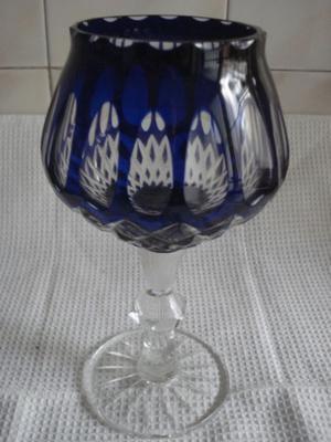 copa cristal checoslovaca 26 cms alto 14 cms ancho
