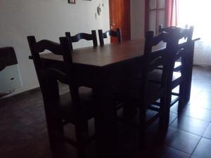 Juego de Mesa de Comedor y sillas