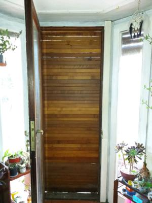 LIQUIDO: PERSIANAS DE MADERA 2mts.X 0,75cm.