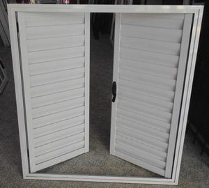 Postigo blanco de aluminio de primera calidad