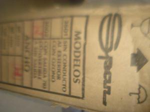 purificador y ext. de aire spaar nuevo sin uso