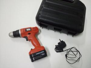Atornillador Black and Decker 12v