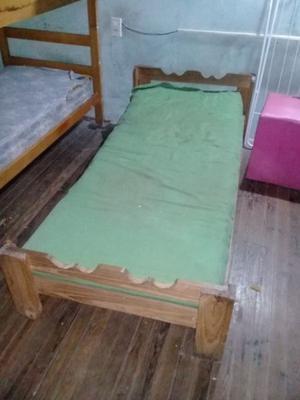 Cama de 1 plaza más colchón