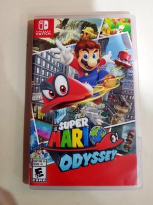 Juego Super Mario Odyssey Nintendo Switch Fisico