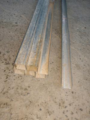 Perfil Solera 35 mm por 26 mm durlock construcción en seco