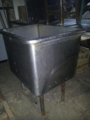 bacha de acero inoxidable para gastronomia en mar del plata