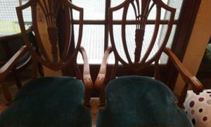 vendo 2 regios sillones ADAMS de estilo INGLES
