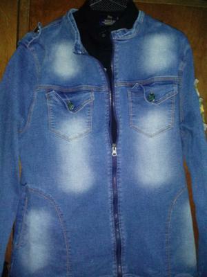 Campera de Jean y Camisa