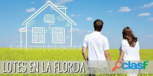 LOTES en LA FLORIDA