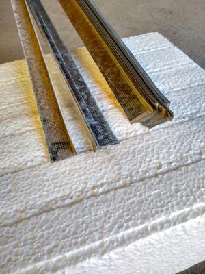 Perfil ángulo de ajuste durlock knauf construcción en seco