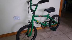 Vendo bicicleta cross niño rod.16