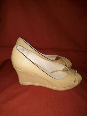 Zapatos Mujer punta abierta semi nuevos URGENTE!!!