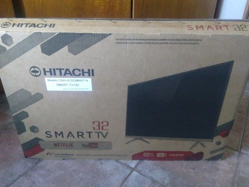 Smart TV 32 pulgadas. Hitachi Nuevo!! mod:cdh-le32smart14