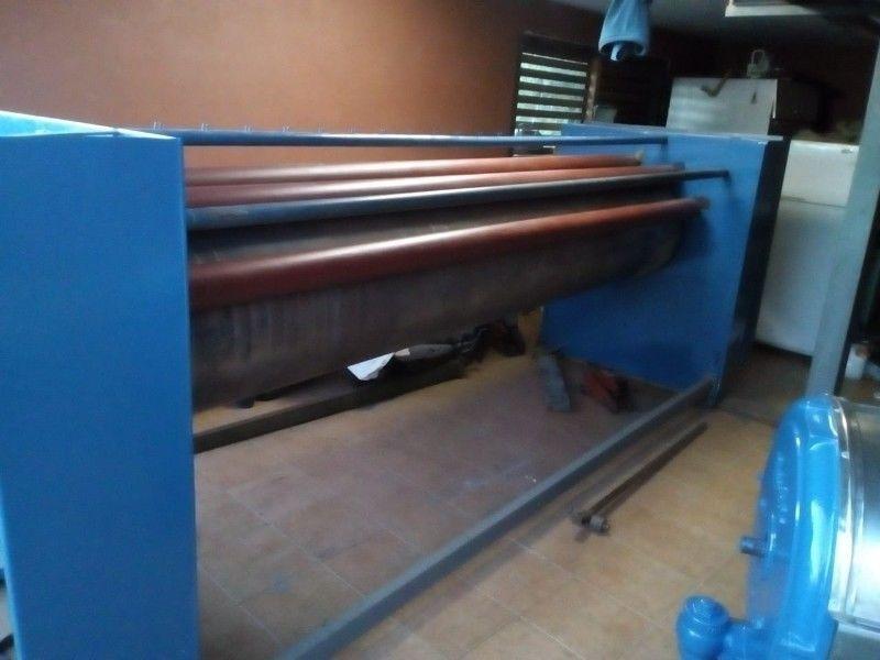 lavadora industrial y plancha calandra