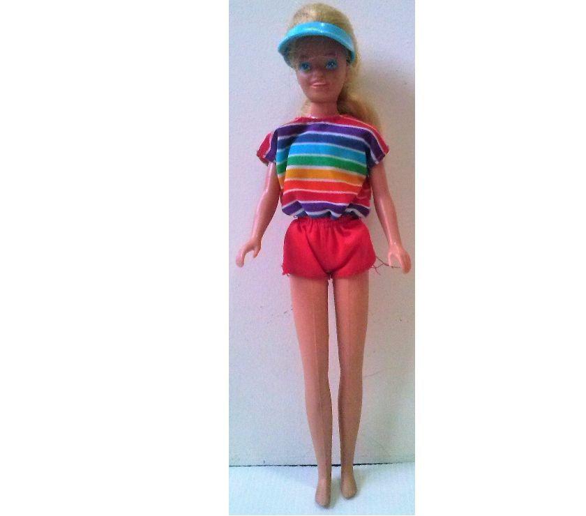 Antigua Muñeca Barbie Original Mattel Año