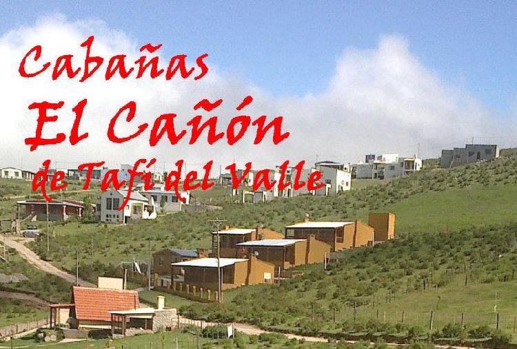 Cabañas en Tafi del Valle con pileta alquiler para 2 a 6