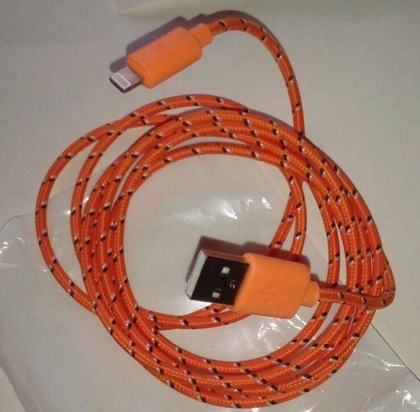 Cable IPHONE de Tela Lightning Usb Forrado Resistente 2