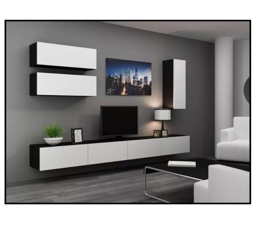 Combo: Mesa TV multiuso + 3 Modulares (Flotantes - Reforzado