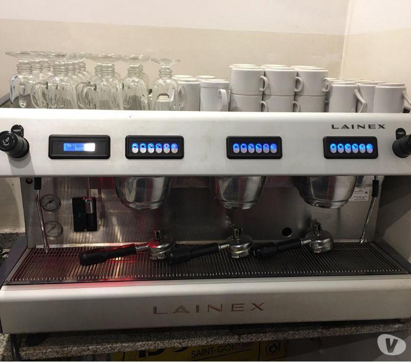 Máquina De Café Lainex 3 Grupos Digital + Molinillo
