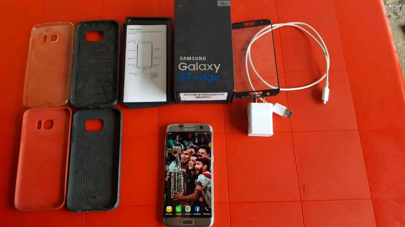 Vendo/Permuto Samsung S7 EDGE Libre de fabrica en caja