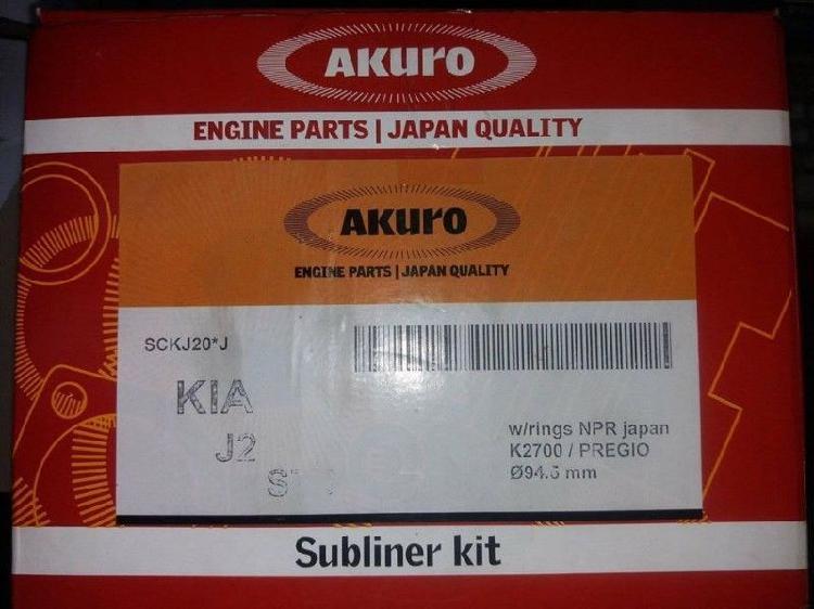 sub conjunto pistones y aros kia 2700 motor J2 japón