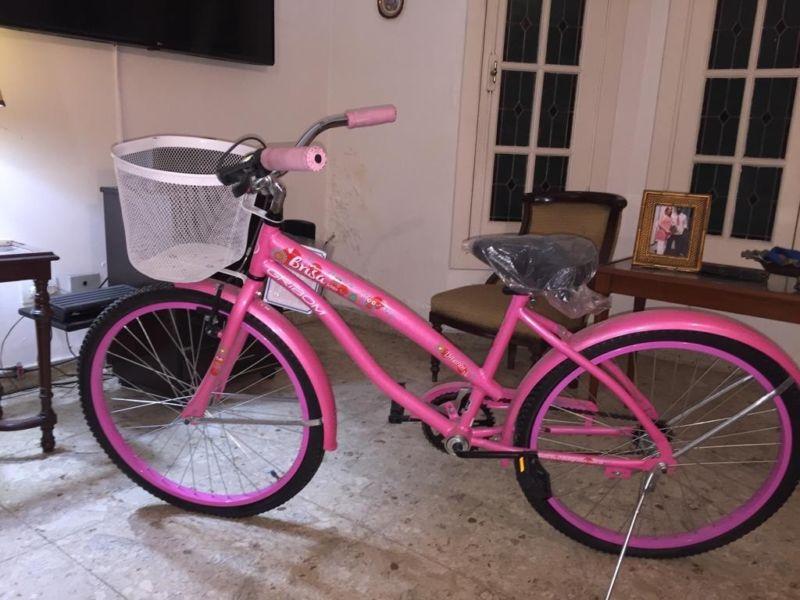 Bicicleta Gribom Brisa Rodado 24 Color Rosa (nueva)